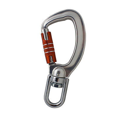 Fusion Climb Liberty Aluminum Swivel Triple Lock True Captive Eye Carabiner
