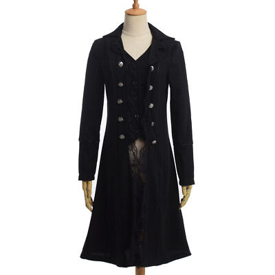 Pirate Jacket Medieval Traditional Adult Ladies Trench Coat British French Coat - Pirate Coat For Women