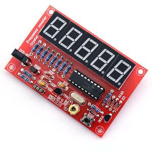 1Hz-50MHz Crystal Oscillator Frequency Counter Meter Kits Digital LED DIY Sets