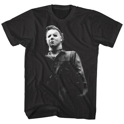 Halloween Horror Movie Michael Myers Masked Men's T Shirt Scary Evil - Halloween Movie Villains