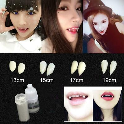 A Vampire Halloween Costume (Halloween Cosplay Fake Dentures Vampire Teeth Fangs Costume Ghost Party Props)