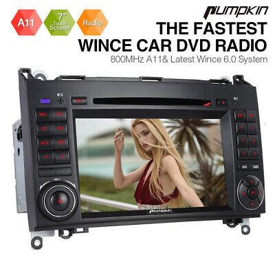 """7"""" Autoradio DVD CD Player Für Mercedes Benz A/B Klasse Sprinter Viano Vito W639"""