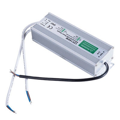 AC DC 12V 150W Lighting Transformer Power Supply LED Driver Waterproof Adapter 1