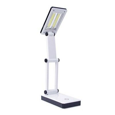 Dimmable LED Desk Light Touch Sensor USB Rechargeable Table Bedside Reading Lamp