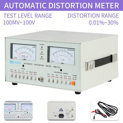Automatic Distortion Meter Tdm-1911 Audio Distortion 110v Meter 0.01 - 30