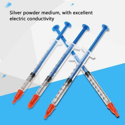0.20.30.50.7ml Conductive Silver Paste Adhesive Paint Pen Keyboard Pcb Repair