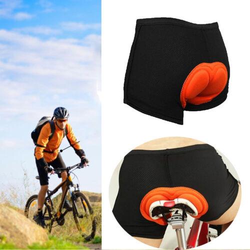 3D Padded Men Women Cycling Underwear Bicycle MTB Riding Shorts Black Soft Pants