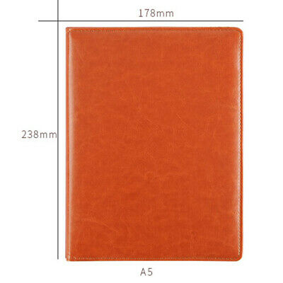 A5 Pu Leather Office Clip Board Protective Document Bags File Folder Business