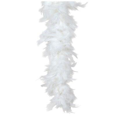 Snow White Turkey Feather Boa 55GM 6 ft 72