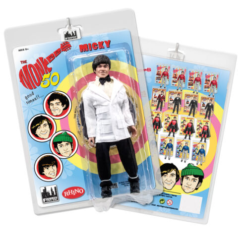The Monkees 8 Inch Retro Action Figure Variants: Lab Coat Micky Dolenz