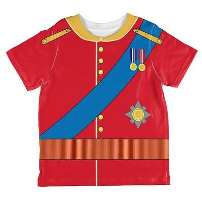 Halloween Prince Charming William Costume All Over Toddler T Shirt - Prince William Halloween Costume