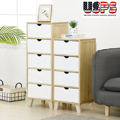 Chest of Drawers Dresser 4/5 Drawer Discount Furniture Cabinet Bedroom Storage