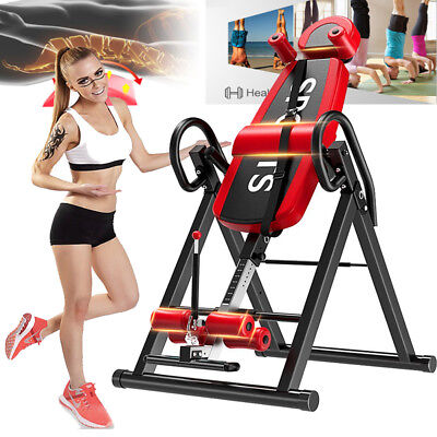 2018 Inversion Therapy Adjustable Table Back Pain Belt Back Stretcher Machine