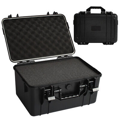 Large Hard Plastic Flight Carry Case Foam Tool Camera Secure Storage Carry Boxes