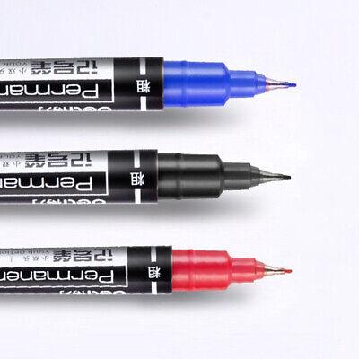 0.5/1mm Double Tip Permanent Paint Marker Fine Line Drawing Writing Oil Pen Grac