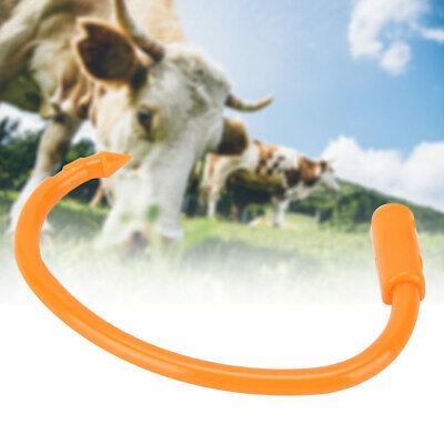 3pcs Round Farm Plastic Bull Cow Cattle Nose Ring Animals Equipment Accessories