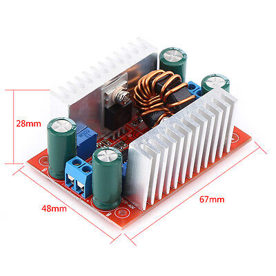 400w 15a Dc Step-up Boost Converter Constant Current Power Supply Led Driver L