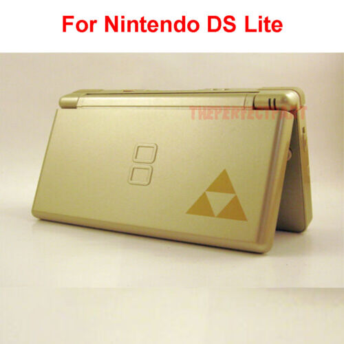 Full Replacement Housing Shell Screen Lens Zelda Triforce For Nintendo DS Lite