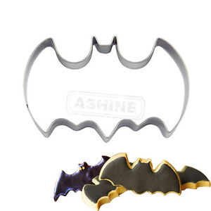 Batman Stainless Steel Cookie Biscuit Pastry Fondant Mold Cutter Cake Decorating