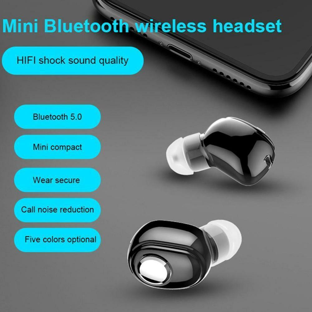 1 wireless bluetooth earphone in ear stereo