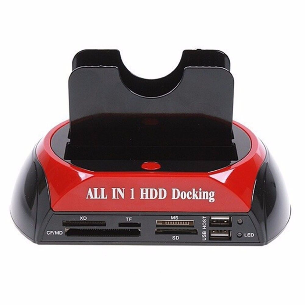 Hard Drive & memory card work station hub new boxed bargain