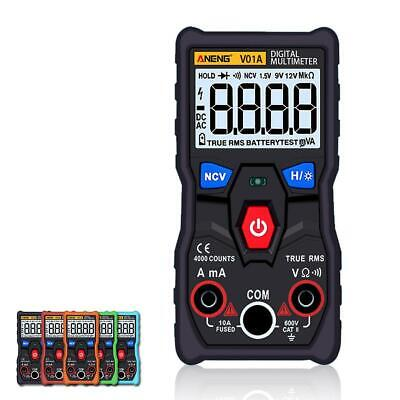 Aneng V01a Automatic Digital Multimeter True-rms Intelligent Ncv 4000 Counts Jl