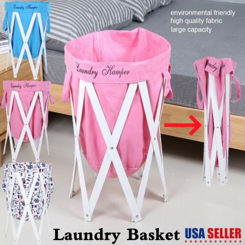 collapsible laundry hamper basket dirty clothes storage