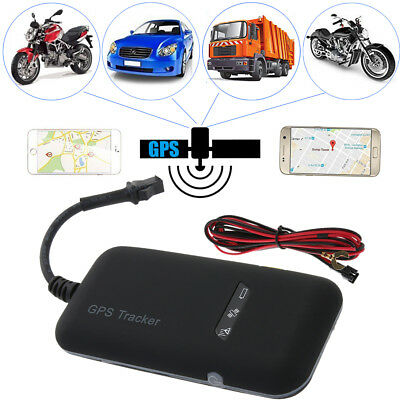 Mini Realtime GPS Car Tracker Locator GSM/GPRS Vehicle Motorcycle Anti-theft