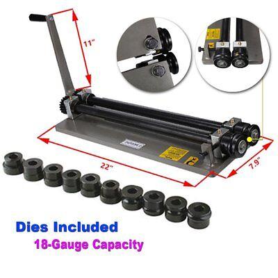 Bead Roller Rolling Tool Sheet Metal Steel Gear Drive Rotary Machine Wdies Set