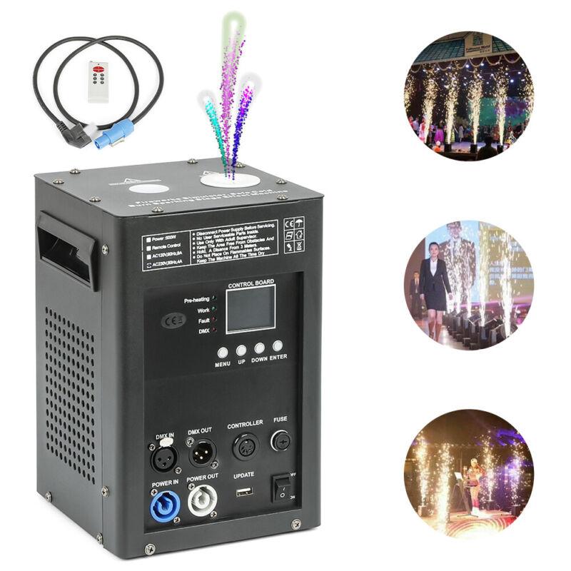 500W dmx cold spark machine indoor firework machine for stage dj disco
