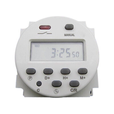Cn101 Dc 12v 16a Digital Lcd Power Programmable Timer Time Relay Switch Durable