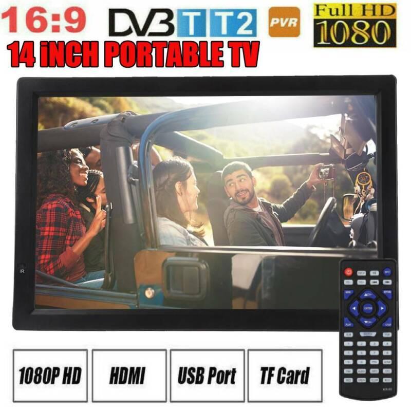 Portable+Digital+TV+1080P+14+Inch+Digital+USB+Analog+ATV+TV+Television+Player+UK