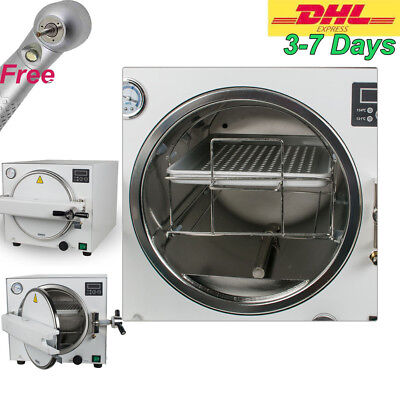 18l Medical Dental Autoclave Steam Sterilizer Disinfect Machine For Instrument