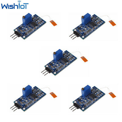 5pcs Strain Gauge Bending Sensor Module Weighing Amplifier Voltage Output