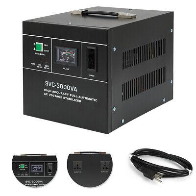 Ac Automatic Voltage Regulator 3000va 13.6a Automatic Voltage Stabilizer