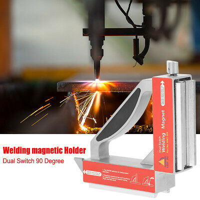 90 Degree Magnetic Welding Switch Welder Fixture Jig Soldering Clamp Holder