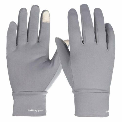 BOODUN Women Touch Screen Winter Gloves for Running, Cycling, Outdoor (Gray)