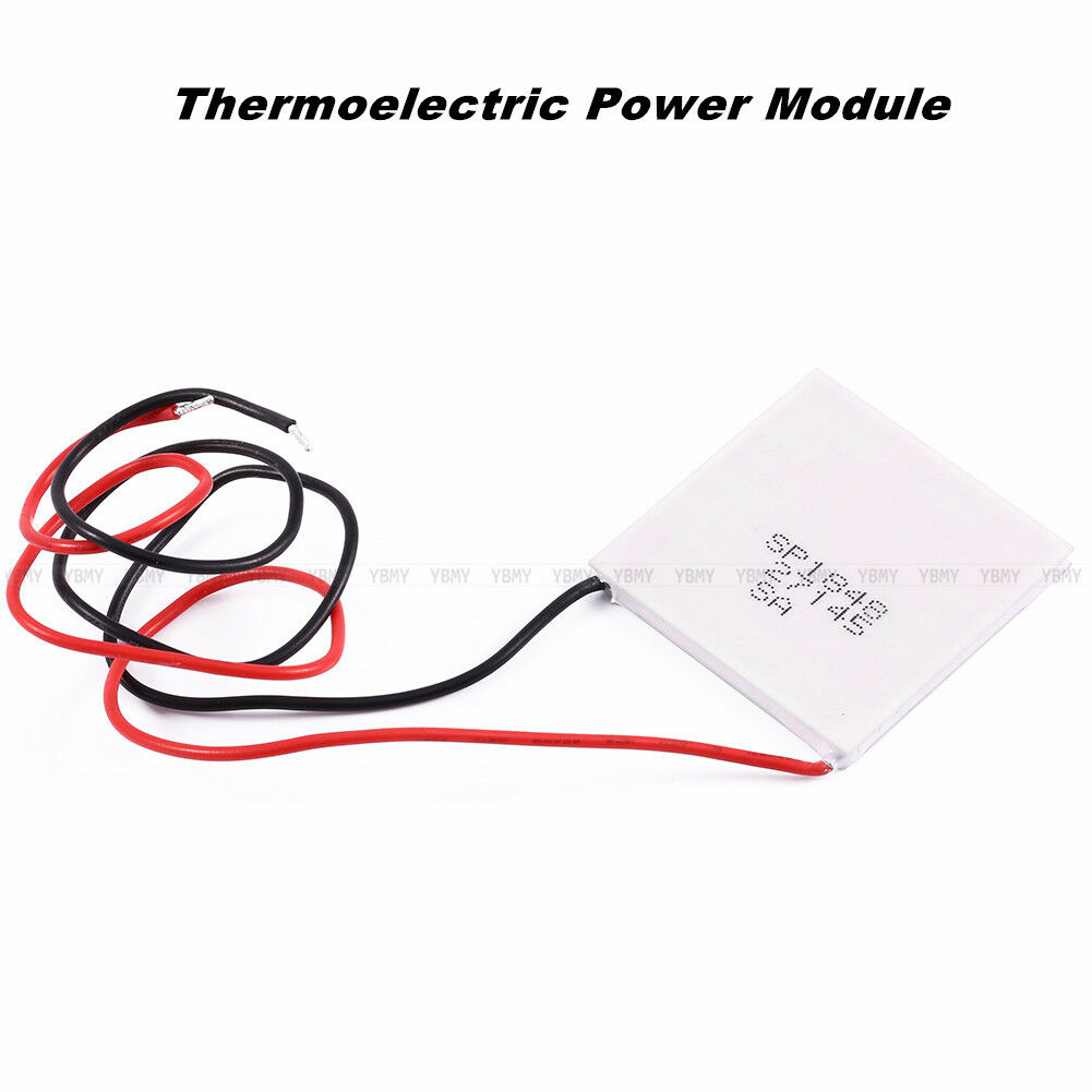 5x Thermoelectric Power Generator Peltier Module TEG 40*40mm High Temperature de