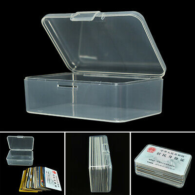 Clear Small Plastic Translucent With Lid Collection Container Case Storage - Small Plastic Storage Containers