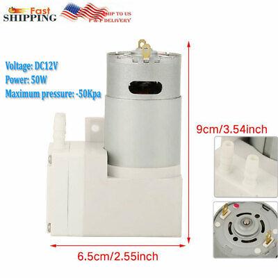 12v Vacuum Micro-pump High Pressure Suction Diaphragm Pump Engineering Usa