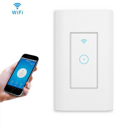 Smart WIFI Light Wall Switch Works with Alexa Google Home IFTTT Safety life App