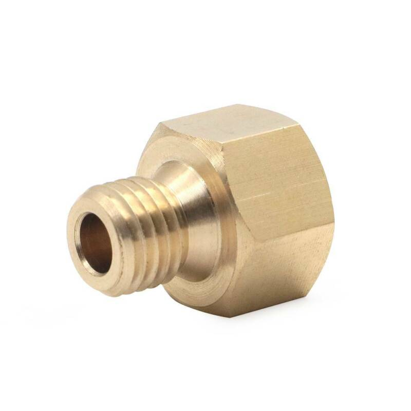 """AUTOMETER METRIC Temperature Pressure ADAPTER 1//8/"""" NPT to M12 X 1.75 Fitting"""