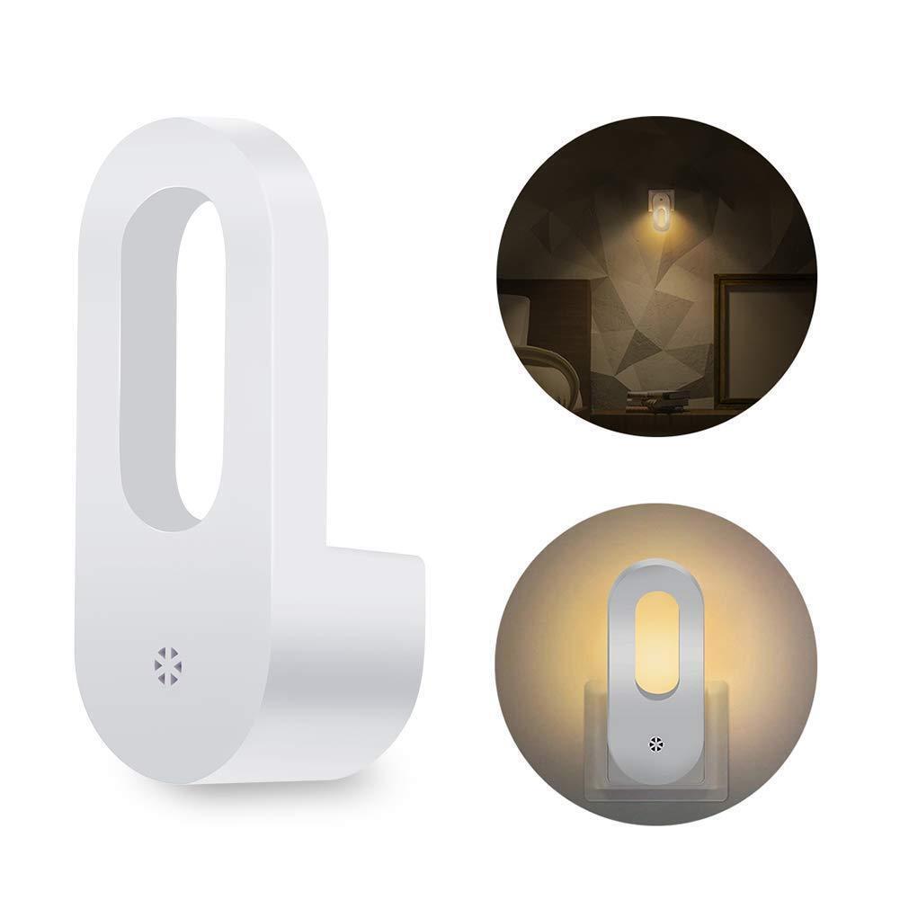 0.7W Plug in Wall LED Night Light Lamp Auto Dusk to Dawn Sen