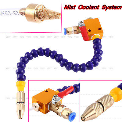 Mist Coolant Lubrication Spray System Unit For Cnc Lathe Metal Milling Machine