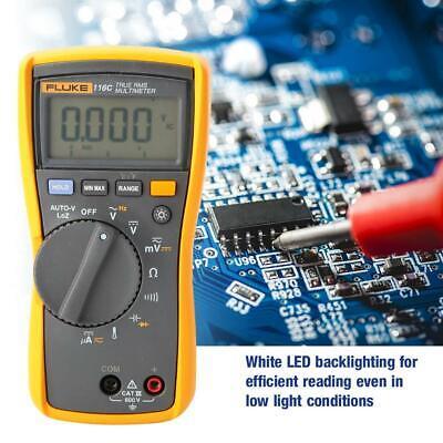 Fluke 116c Pocket Digital Multimeter Continuity Frequency Capacitance Tester
