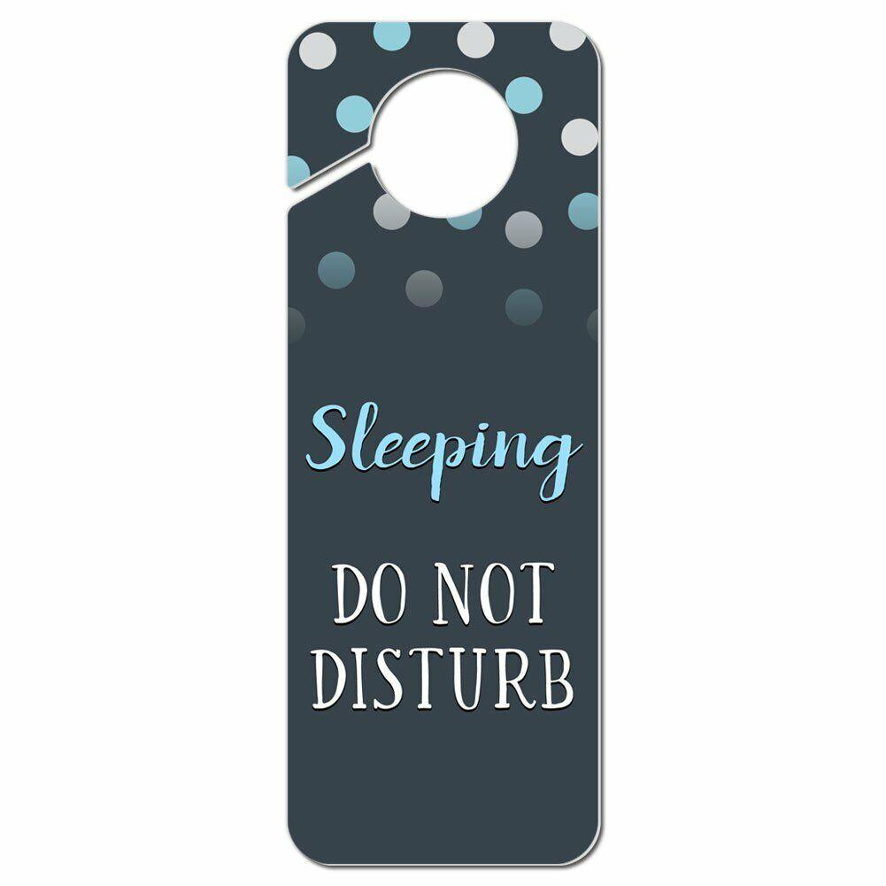 sleeping do not disturb plastic door knob