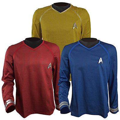 Star Trek Into Darkness Captain Kirk Spock Scotty Shirt Halloween - Captain Kirk Costume Halloween