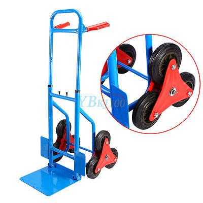 Warehouse Heavy Duty 6 Wheel Stair Climber Climbing Sack Truck Trolley Cart
