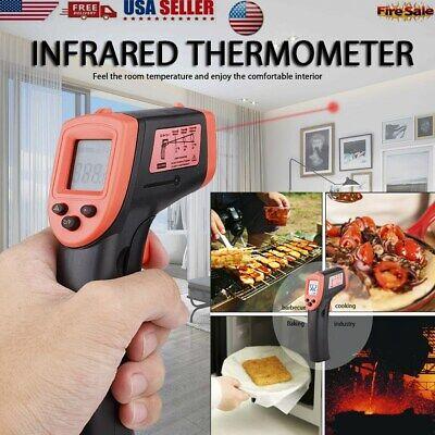 Lcd Non-contact Digital Ir Laser Infrared Temperature Thermometer Gun Pyrometer