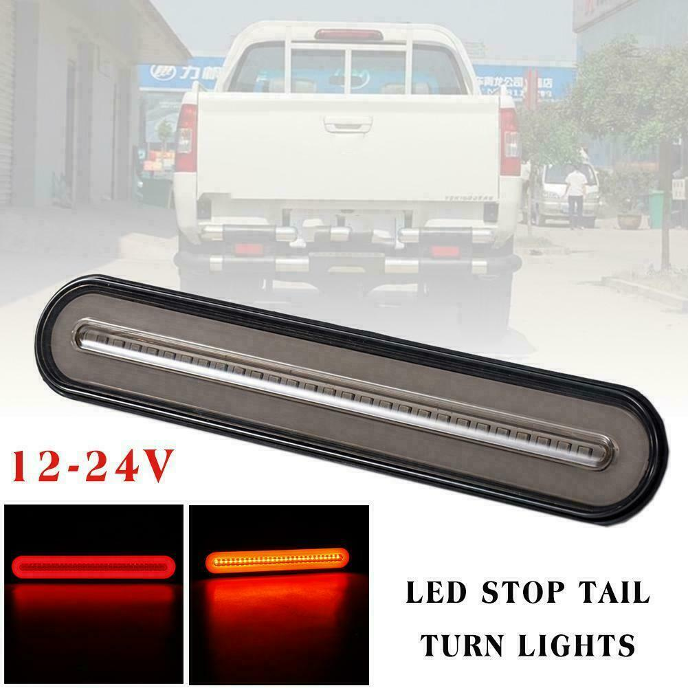 2x 100LED Truck Tailgate LED Light Bar Brake Reverse Turn Signal Stop Tail Strip Car & Truck Parts